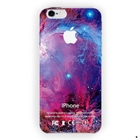 Red Purple Colorful Galaxy Nebula For iPhone 6 / 6 Plus Case