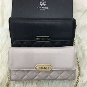 CUPCUPST Chanel' Simple Fashion All-match Quilted Chain Single Shoulder Messenger Bag Women Small Square Bag