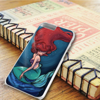The Litle Mermaid Painting Art iPhone 6 Plus Case