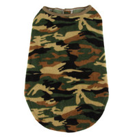 Grreat Choice® Camo Fleece Coat - Clothing & Accessories - Dog - PetSmart
