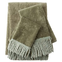 Sherry Kline Curly Bullion 3-pc. Decorative Towel Set (Green)
