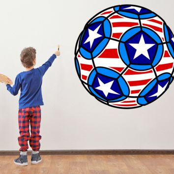 Best Soccer Ball Decal Products On Wanelo