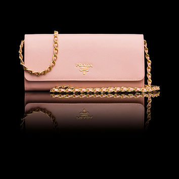 Prada E-Store · Woman · Wallets · Document Holder 1M1290_QWA_F0615