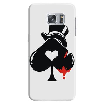 poker hat ace of spades Samsung Galaxy S7
