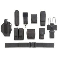 Ultimate Arms Gear 10pc Police-Law Enforcement-Security Gear Modular Nylon Duty Belt With Pistol/Gun Holster