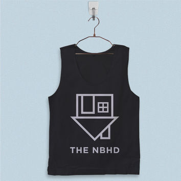 Men's Basic Tank Top - The Neighbourhood Logo