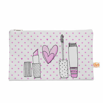 "MaJoBV ""Girls Luv"" Pink Makeup Everything Bag"