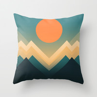 Inca Throw Pillow by Budi Satria Kwan
