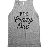 The Crazy One - Group Shirts 3-Unisex Athletic Grey Tank