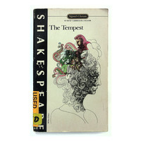"""Milton Glaser paperback book cover design, 1964. """"The Tempest"""" by William Shakespeare"""