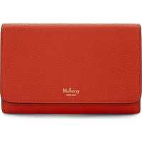 MULBERRY - Grained leather medium continental wallet | Selfridges.com