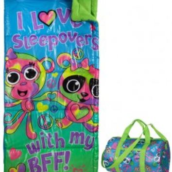 BFF Sleepover Sleeping Bag & Duffle Bag | Camp Collection | Hot Shops | Shop Justice