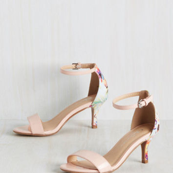 Let's Make a Record Deal Heel | Mod Retro Vintage Heels | ModCloth.com
