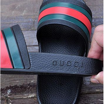 Gucci Woman Men Fashion Casual Sandals Slipper Shoes