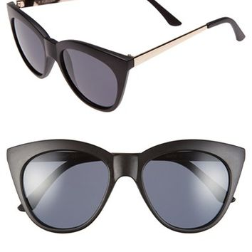 Women's A.J. Morgan 'Sheridan' 52mm Cat Eye Sunglasses