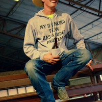 Tailgate Series * My Drinking Team Has a Rodeo Problem Hoodie UNISEX FIT