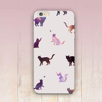 Star Cats Phone Case For  - iPhone 6 Case - iPhone 5 Case - iPhone 4 Case - Samsung S4 Case - iPhone 5C - Tough Case - Matte Case