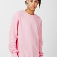 The Idle Man Perfect Sweatshirt Pink