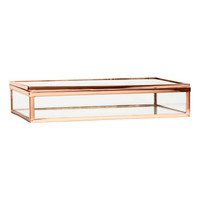 H&M Large Glass Box $24.99