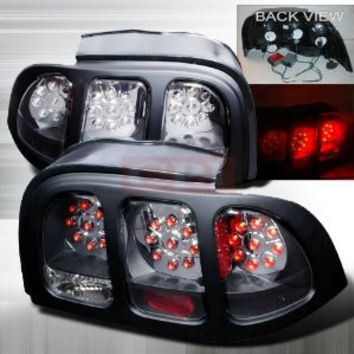 Ford 1994-1998 Ford Mustang Led Tail Lights /Lamps - 1 Set Rh&Lh Performance 1994,1995,1996,1997,1998