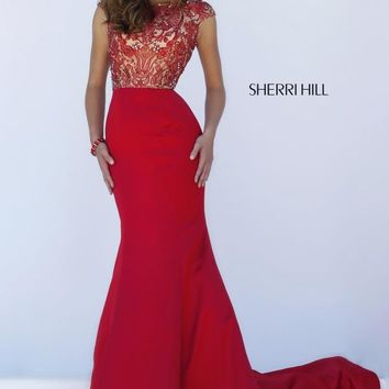 Sherri Hill Formal Fit and Flare Dress 32358