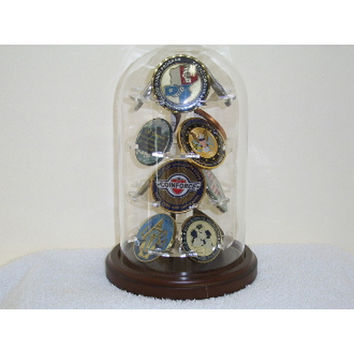 M12 Glass Dome Display Hand Made By Veterans