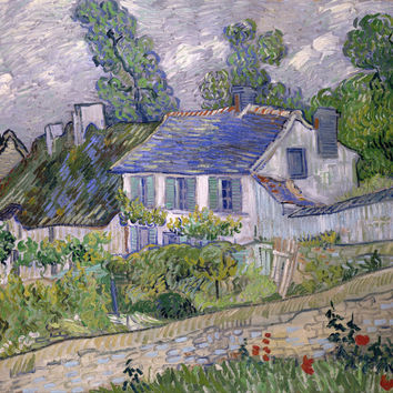 Vincent Van Gogh Houses At Auvers