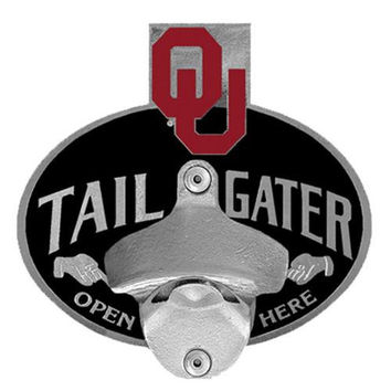 Oklahoma Sooners NCAA Tailgater Hitch Cover