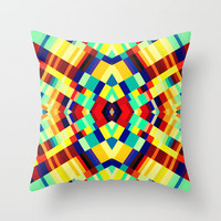 the Great Noize XIV Throw Pillow by Rain Carnival