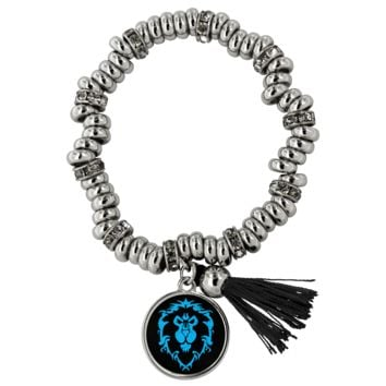 """World of Warcraft """"For the Alliance"""" Piper Bracelet"""