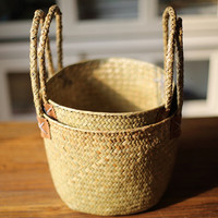 hand-weaved  Storage Box/Repose Harmonized Basket(J104)