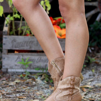 Southern Style Bootie - Tan