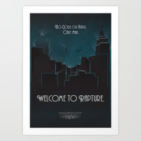 Bioshock Art Print by Will Crase