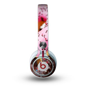 The Sprinkled Donuts Skin for the Beats by Dre Mixr Headphones