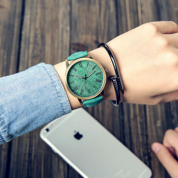 Good Price Stylish Designer's Awesome New Arrival Trendy Great Deal Gift Vintage Simple Design Canvas Watch [11668120207]