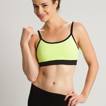 Black Strength Reversible Sports Bra - Beckons