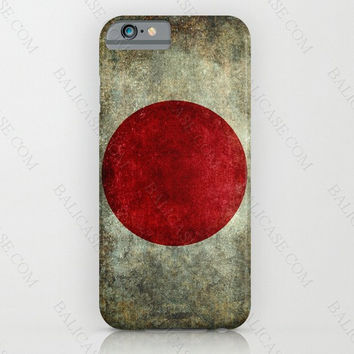 Flag of Japan case cover