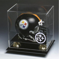 Pittsburgh Steelers NFL Full Size Football Helmet Display Case