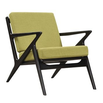Jet Accent Chair LIME - BLACK
