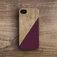 Red iphone 4 case red iphone 5 case wine iPhone 5s case wood iPhone 4s case plastic iphone 5s case rubber iphone 5s case autumn fall c257