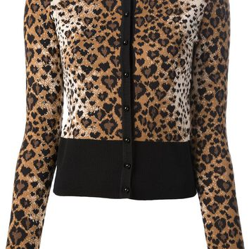 Red Valentino leopard cardigan