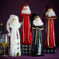 Santa Wine Tassel - Katherine's Collection