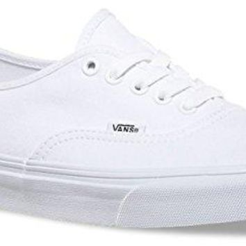 ebe0ab1611829 Vans Authentic Unisex Skate Trainers Shoes White 6 B(M) US Women