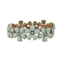 Faceted Daisies Bracelet