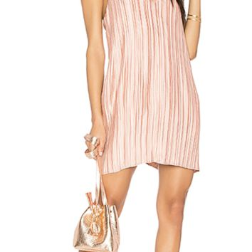 Primavera Mini Dress in Desert Coral