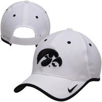 Iowa Hawkeyes Nike 2014 Coaches Performance Adjustable Hat – White
