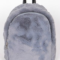 Faux Fur Mini Backpack (4 Colors)