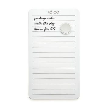Magnetic Dry Erase To-Do Memo Board