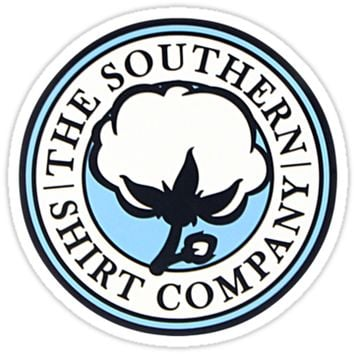 'The Southern Shirt Company' Sticker by Michael Watts