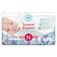 Honest Limited Edition Diapers in Falling Snowflake Pattern